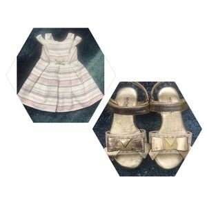 Other - Toddler dress and Michael Kors sandals